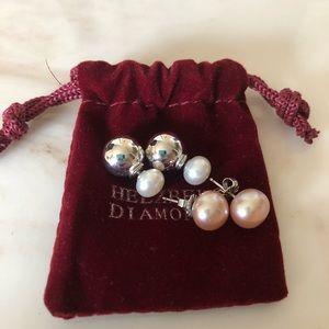 Helzberg Diamonds: Pear earrings